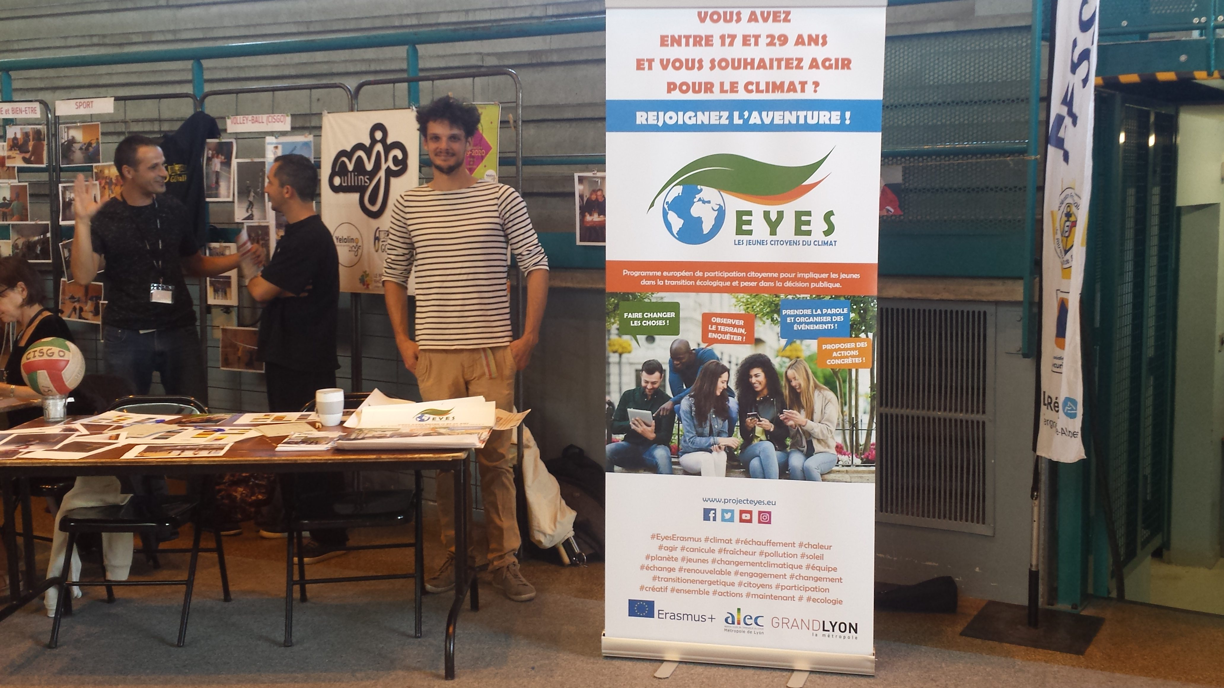 EYES aux forums des associations de la rentrée